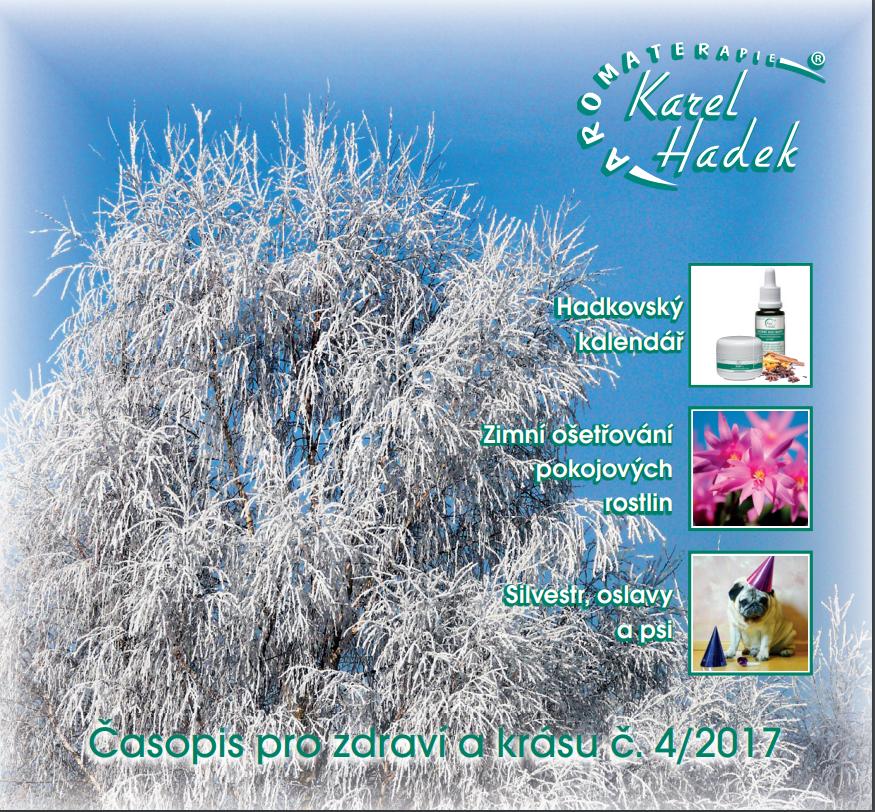 Nové ZIMNÉ vydanie Aromaterapie 2017