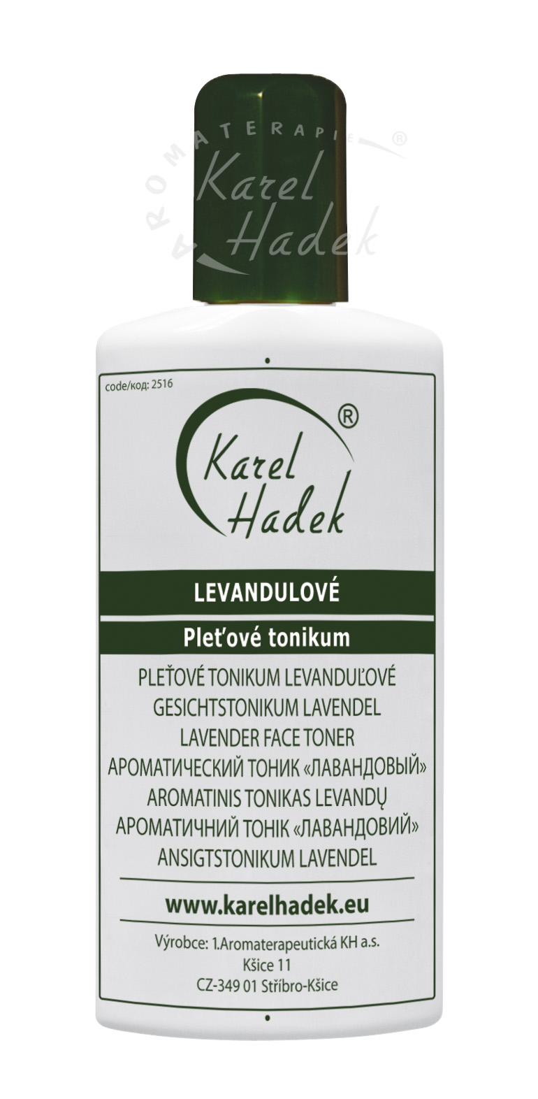 LEVANDULOVÉ PT - tonikum so 7% alkoholom - 20 ml