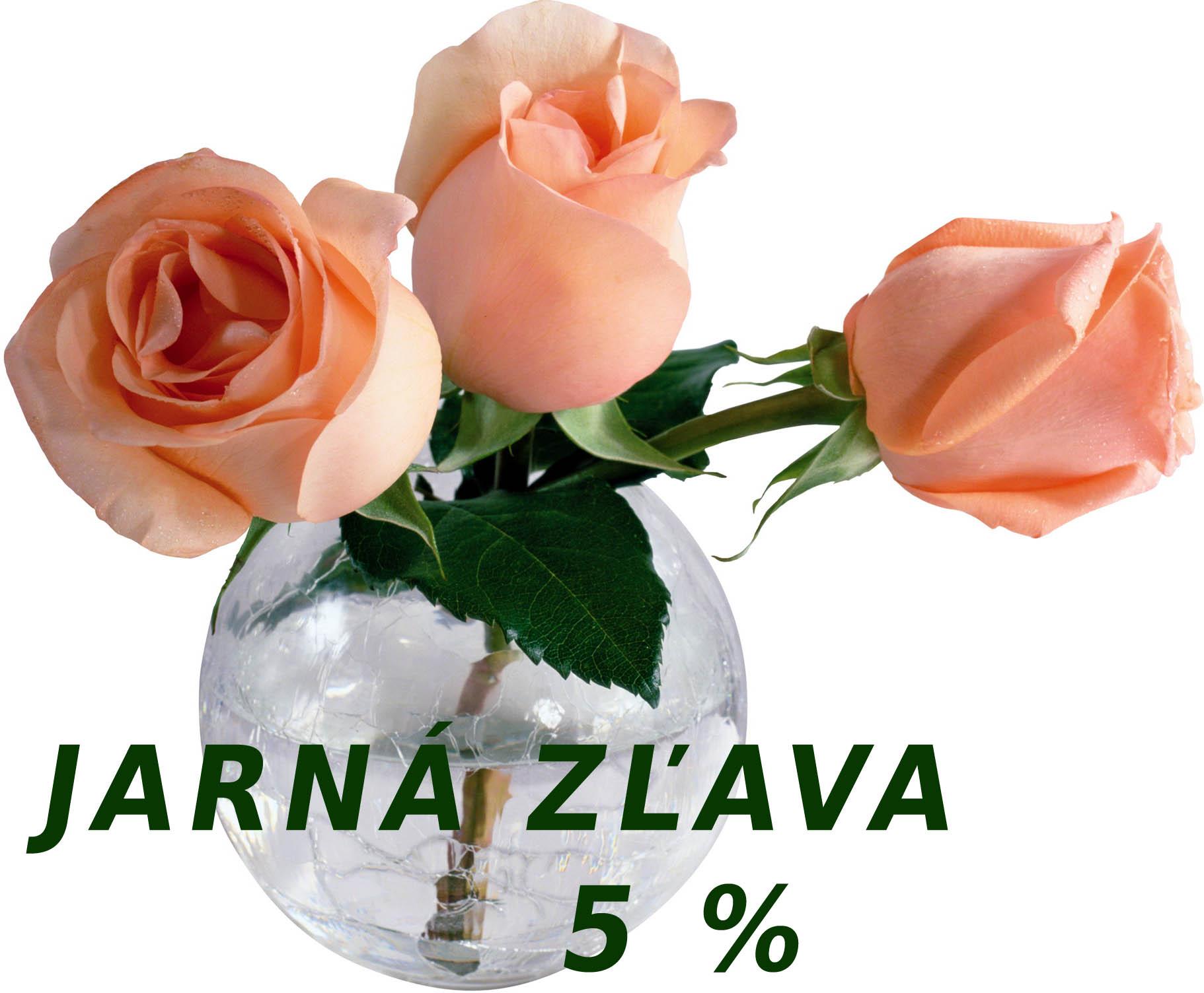 JARNÁ ZĽAVA 5% - INFORMÁCIE